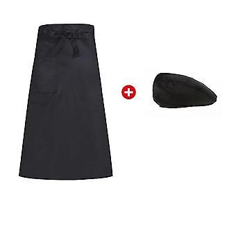 Chef Restaurant Kitchen Work Uniform Elastic Waistband Cozinha Trousers