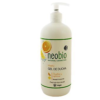 Neobio Bio Vitality Douche Gel Orange & Citron 500 ml
