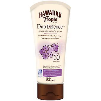 Hawaiian Tropic Duo Defense Spf 50+ 180 ml