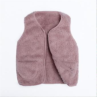 Fleece Kids Waistcoat Toddler For, Warm Winter Sleeveless Jacket