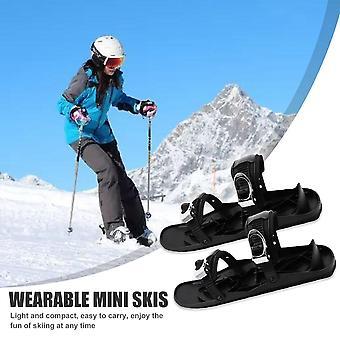 迷你高品质可调绑定便携式滑雪鞋