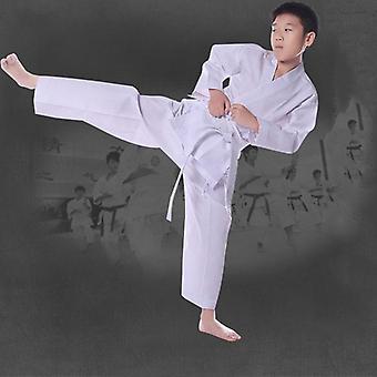 Karate-univormu, Taekwondo-puku vyöllä, joustava vyötärönauha, urheiluharjoittelu