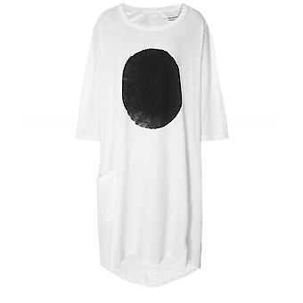 Lurdes Bergada Linen Blend Oversized Spot T-Shirt