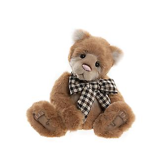 """Charlie Bears Heavenly - Brown plush collectable teddy bear - Exclusive Cuddle Time TV character - 16"""" in height - Fully jointed"""