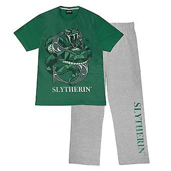 Harry Potter Mens Slytherin Pyjama Set