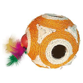 Arquivet oranssi pallo 11, 5cm (kissat, lelut, pallot)