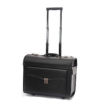 كابتن الطيران الطيران حقيبة عربة خاصة و بو الأمتعة مربع الصعود القضية