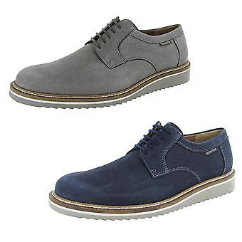 Mephisto Mens Enzo Lace Up Derby Shoes