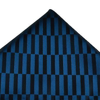 Solmiot Planet Navy Blue & Black Suorakaiteen muotoinen kuviollinen Tasku neliö nenäliina