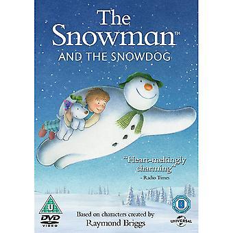 Der Schneemann und der Schneehund (Weihnachtsdekoration) DVD