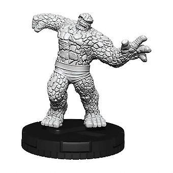 Marvel HeroClix Deep klipper omålade miniatyrer: Saken