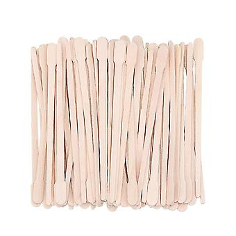 100pcs Disposable Wooden Waxing Stick