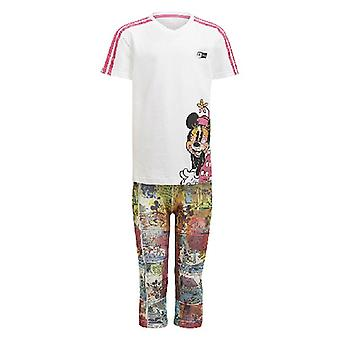 Children's Tracksuit Adidas LG DY MM SUM GM6921 White