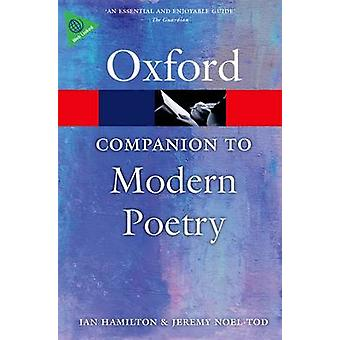 The Oxford Companion to Modern Poetry in English de Edited by Ian Hamilton