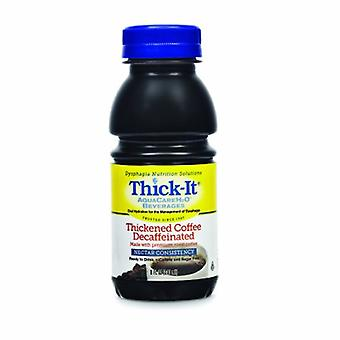 Thick-It Thickened Decaffeinated Beverage, Decaffeinated Coffee / Nectar Case of 24