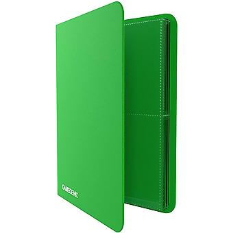 Gamegenic Casual Album 8 Pocket Green
