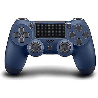 Controller For Ps4 Wireless Playstation 4 Controller With Dual Vibration/speaker/gyro/audio Jack Remote Controller Gamepad For Ps4/slim/pro/(midnight