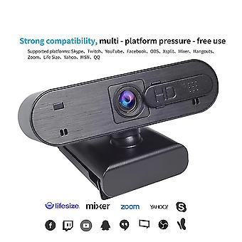 كاميرا ويب كاميرا ويب USB جديدة رقمية كاملة HD 1080P كاميرا ويب كاميرا ويب مع كاميرات الميكروفون (1080P)