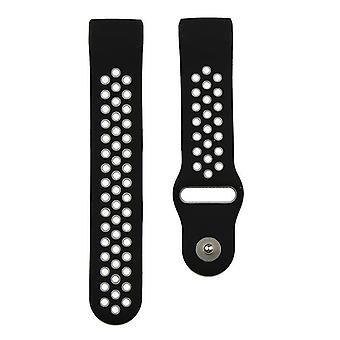 Pulsera compatible con Fitbit Charge 3 (Negro)