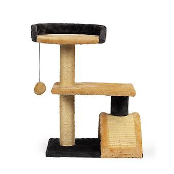 Katzenkratzerhaus - 30 x 40 x 55 - mit Spielbogen und Spielwaren