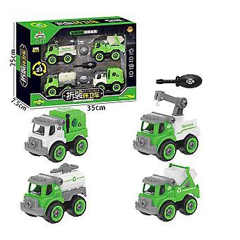 Children's afneembare sanitaire voertuig speelgoed