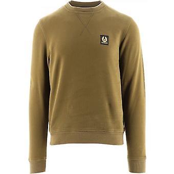 Belstaff Green Regular Fit Sweatshirt