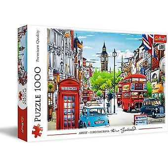 London Street Jigsaw Puzzle 1000 Pieces