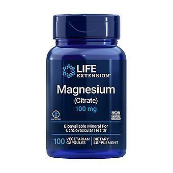 Magnesium sitraatti 100 kasviskapselia 100mg