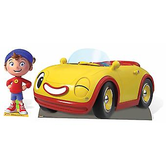 Noddy and Revs from The Toyland Detective Cardboard Cutout / Standee Twin Pack