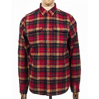 Fjallraven L/s Singi Heavy Flannel Shirt - Deep Red