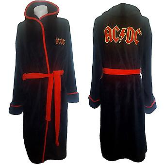 Ac/dc unisex bathrobe: logo