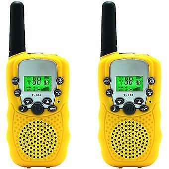 2-pack Dětská vysílačka Talkie Dva způsoby Rádio Toy 3 Miles Range