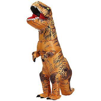Felnőtt Barna Tyrannosaurus Rex felfújható jelmez felnőtt dinoszaurusz jelmez