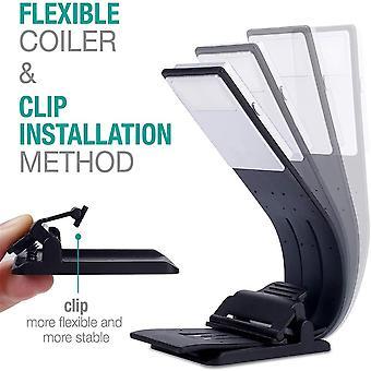 Wiederaufladbare flexible Augenpflege Clip-on Leselampe Led Buch Licht