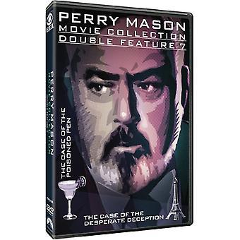 Perry Mason Double Feature: Tilfælde af forgiftet [DVD] USA importerer