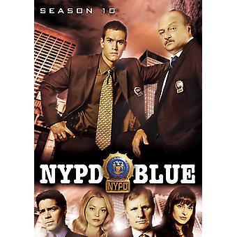 NYPD Blue: Säsong tio [DVD] USA import