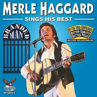 Merle Haggard - Sings His Best [CD] USA import