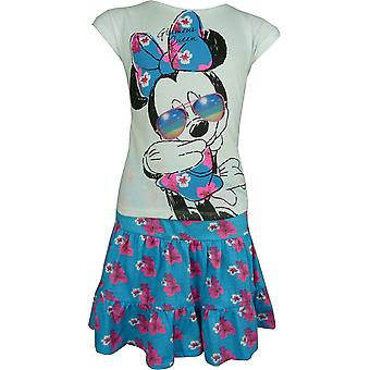 Ragazze Disney Minnie Mouse 2-Piece Set manica corta t-shirt e gonna