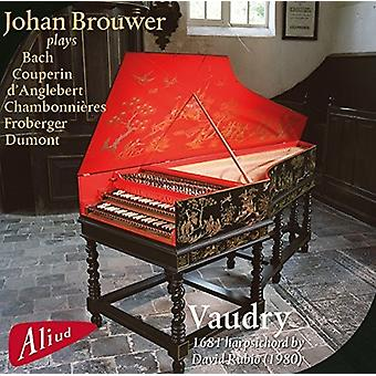 CHAMBONNIERES / Brouwer - Vaudry: 1681 clave [CD] USA importar