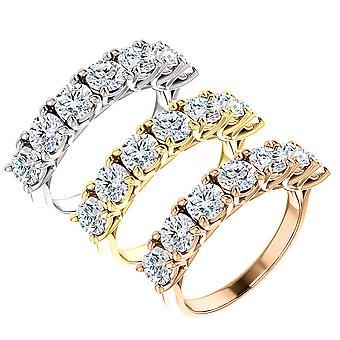 1 1/2ct Diamond Wedding Ring Vintage Womens Antique 10k White Yellow Rose Gold