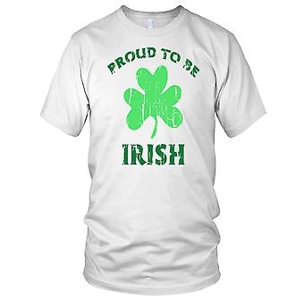 Orgulloso de ser irlandés St Patricks Day las señoras T Shirt