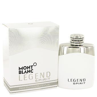 Mont Blanc Legend espírito Eau de Toilette 100ml EDT Spray
