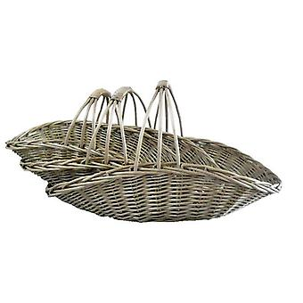 Set of 3 Cut Flower Garden Trugs