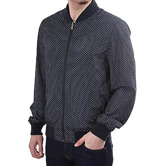 Atelier Scotch Reversible Bomber Jacket With Small Pattern Design