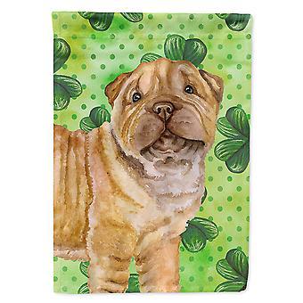 Shar Pei Puppy St Patrick's Flag Canvas House Size