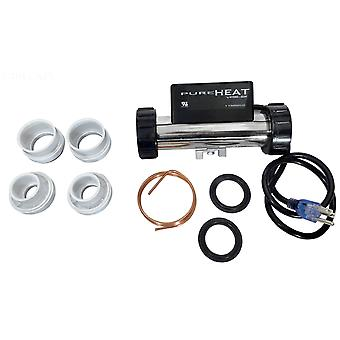 Hydro-Quip PH101-15UV 3' 115V 1.5kW In Line Cord Plug Heater Bath