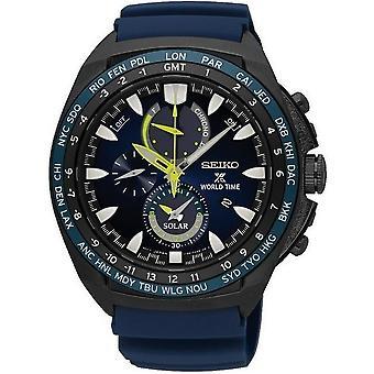 Relógio Seiko mens, ProspEx solar cronógrafo SSC571P1