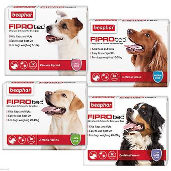 Beaphar FIPROtec Pipette for  Extra Large Dog,  4 TREATMENTS