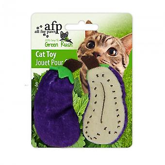 AFP Green Russ Full Catnip -Tomate/Bana./Pera (Cats , Toys , Plush & Feather Toys)
