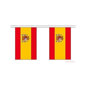 Espanja lippu lippukankaat suorakulmainen liput